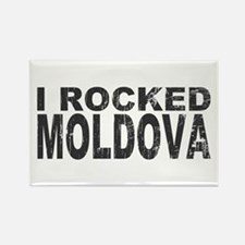I Rocked Moldova Rectangle Magnet