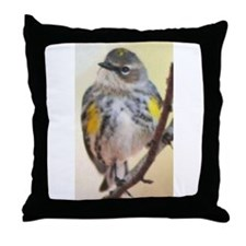 Curious Bird Throw Pillow