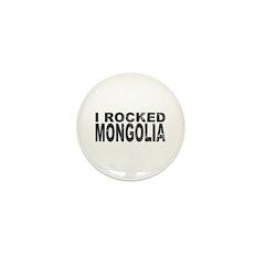 I Rocked Mongolia Mini Button (100 pack)