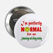 """I'm perfectly normal for an 2.25"""" Button (10 pack)"""