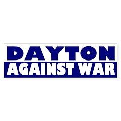 Dayton Against War (bumper sticker)
