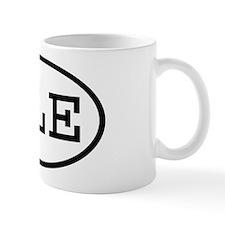 PLE Oval Mug