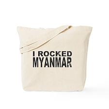 I Rocked Myanmar Tote Bag