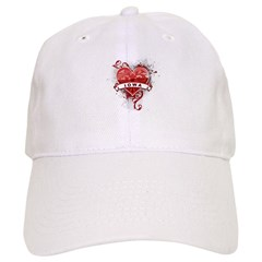 Heart Iowa Baseball Cap