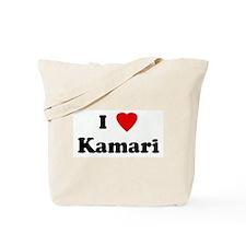 I Love Kamari Tote Bag