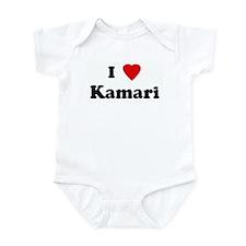 I Love Kamari Infant Bodysuit