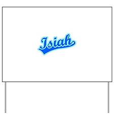 Retro Isiah (Blue) Yard Sign