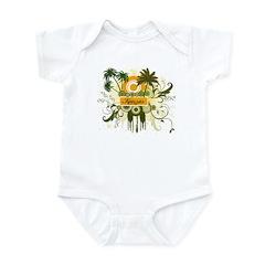 Palm Tree Kansas Infant Bodysuit