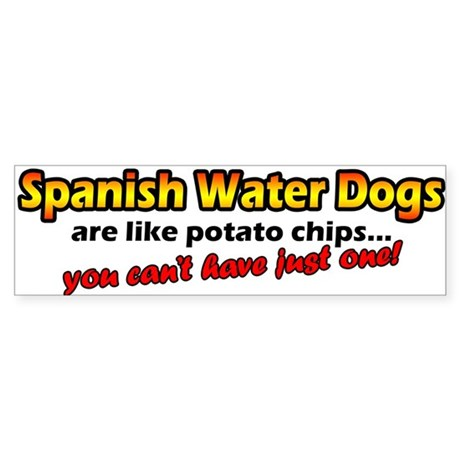Potato Chips Spanish Water Dog Bumper Sticker