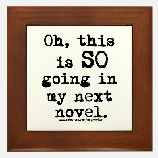 Next Novel Framed Tile