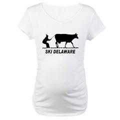 Ski Delaware Maternity T-Shirt
