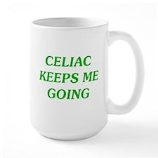 Celiac Keeps Me Going Mug