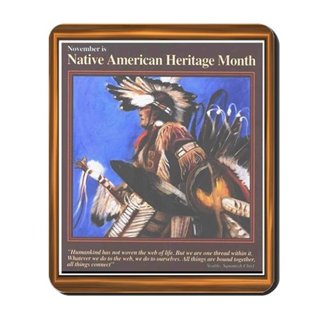 Native American Heritage Mont Mousepad