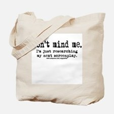 Screenplay Research Tote Bag