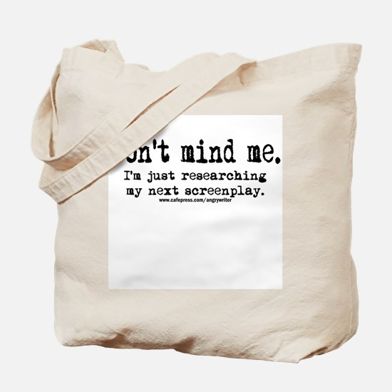 Screenplay Research Tote Bag