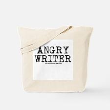 Angry Writer Tote Bag
