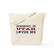 Somebody In Utah Loves Me Tote Bag