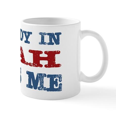 Somebody In Utah Loves Me Mug