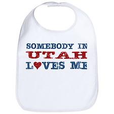Somebody In Utah Loves Me Bib