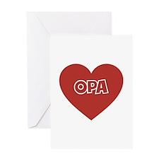Love Opa Greeting Card
