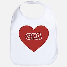 Love Opa Bib