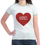 Love Opa Jr. Ringer T-Shirt