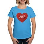 Love Opa Women's Dark T-Shirt