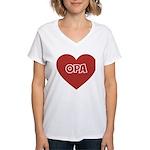 Love Opa Women's V-Neck T-Shirt