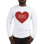 Love Opa Long Sleeve T-Shirt