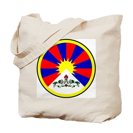 Tibetan Flag Tote Bag