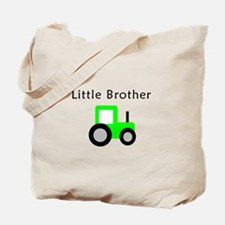 Little Brother - Lime Tractor Tote Bag