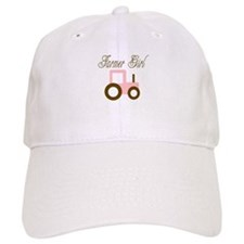 Farmer Girl - Pink/Brown Trac Baseball Cap