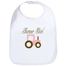 Farmer Girl - Pink/Brown Trac Bib