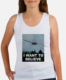 Unique I want to believe Women's Tank Top
