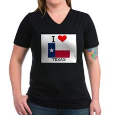 I Love Texas Shirt