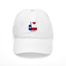 I Love Texas Baseball Cap