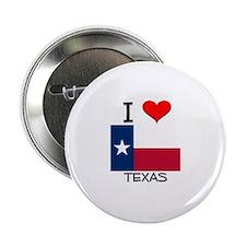 """I Love Texas 2.25"""" Button"""