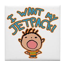 I Want My Jetpack! Tile Coaster