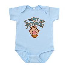 I Want My Jetpack! Infant Bodysuit