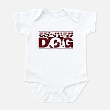 Hidden Spanish Water Dog Baby Bodysuit
