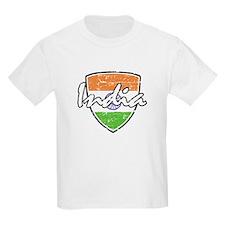 India distressed flag T-Shirt
