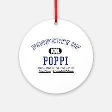 Property of Poppi Ornament (Round)