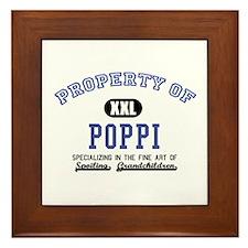 Property of Poppi Framed Tile