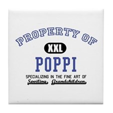 Property of Poppi Tile Coaster