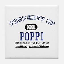 Property of Poppi Tile Coaster