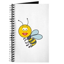 Bumble Bee Smiley Face Journal