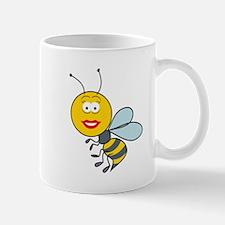 Bumble Bee Smiley Face Mug