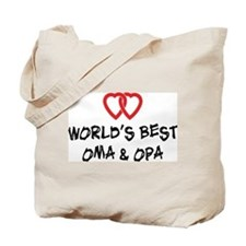 World's Best Oma and Opa Tote Bag