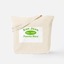 SAN JUAN PR Tote Bag