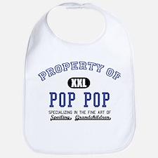 Property of Pop Pop Bib
